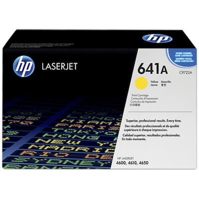 Toner 641A, jaune 8'000 pages LaserJet Color 4600 Serie