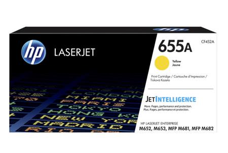 HP 655A Original Toner yellow 10.500 Pages