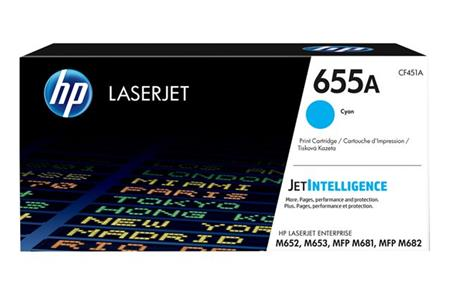 HP 655A Original Toner cyan 10.500 Pages